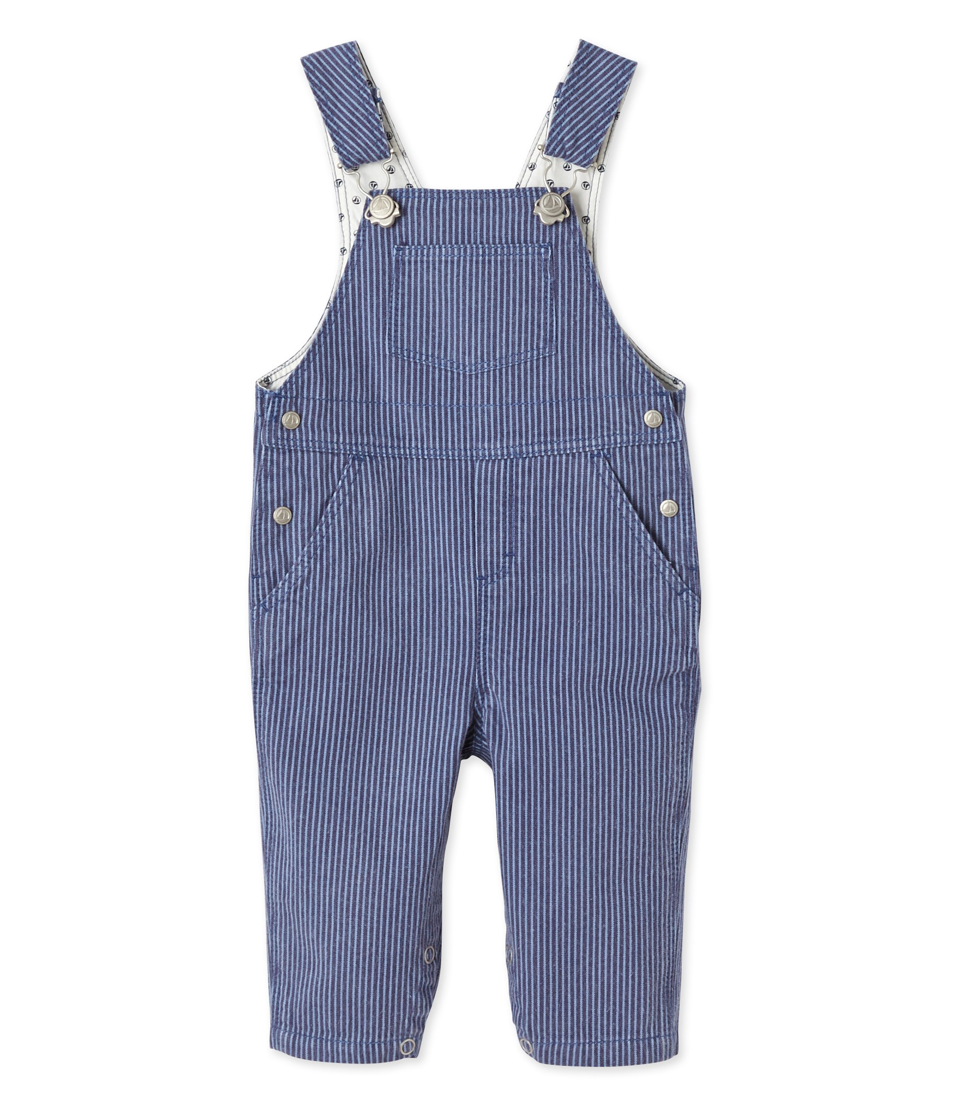 a8d39ffc5632 BABY BOY S STRIPED DUNGAREES