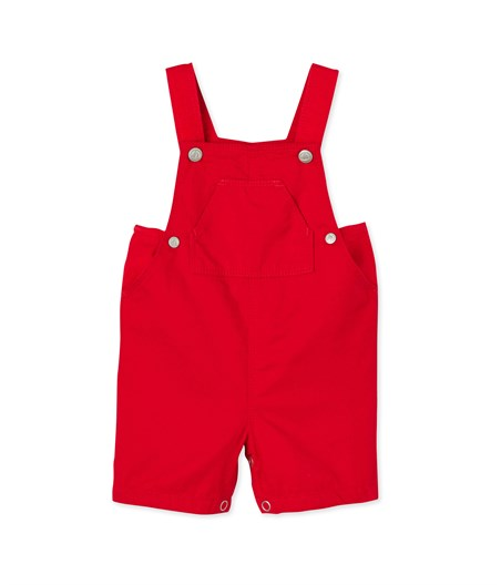 cb21819803a1 BABY BOYS  RED SHORT DUNGAREES